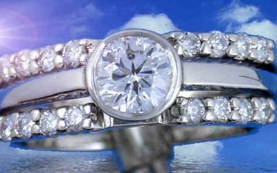 Een diamantring uit de topcollectie