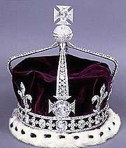 Kroon met edelstenen